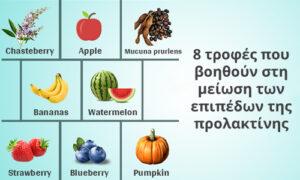 προλακτίνη μείωση με τροφές